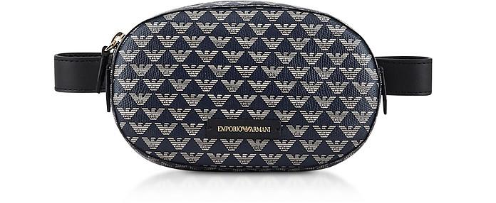Color Block Signature Belt Bag - Emporio Armani