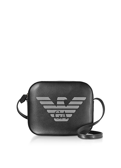 Two-tone Sling Shoulder Bag - Emporio Armani
