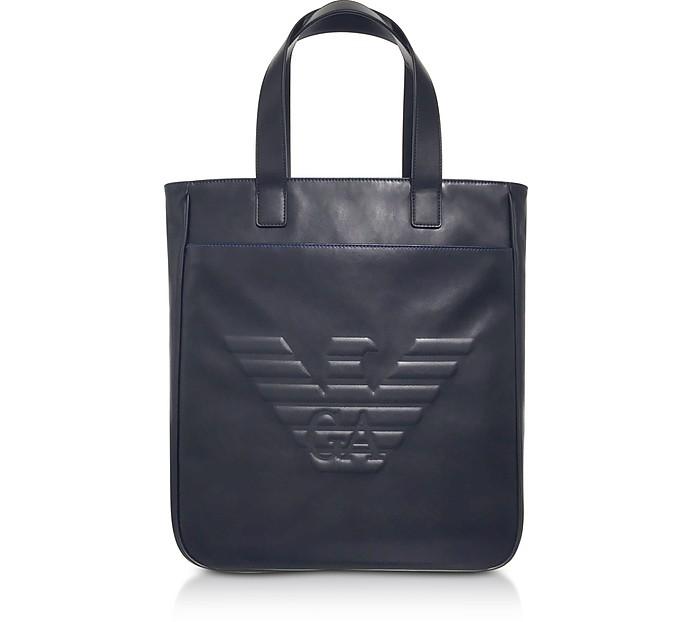 黑鹰男士立式手提包 - Emporio Armani 安普里奥·阿玛尼
