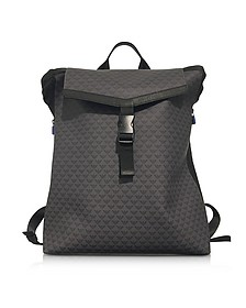 All Over Logo Men's Backpack - Emporio Armani