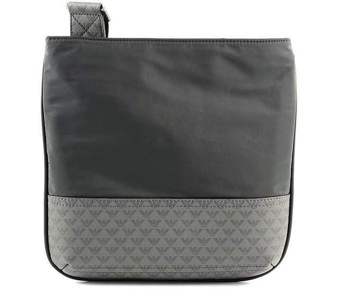 Men's Blue / Black Shoulder Bag - Emporio Armani