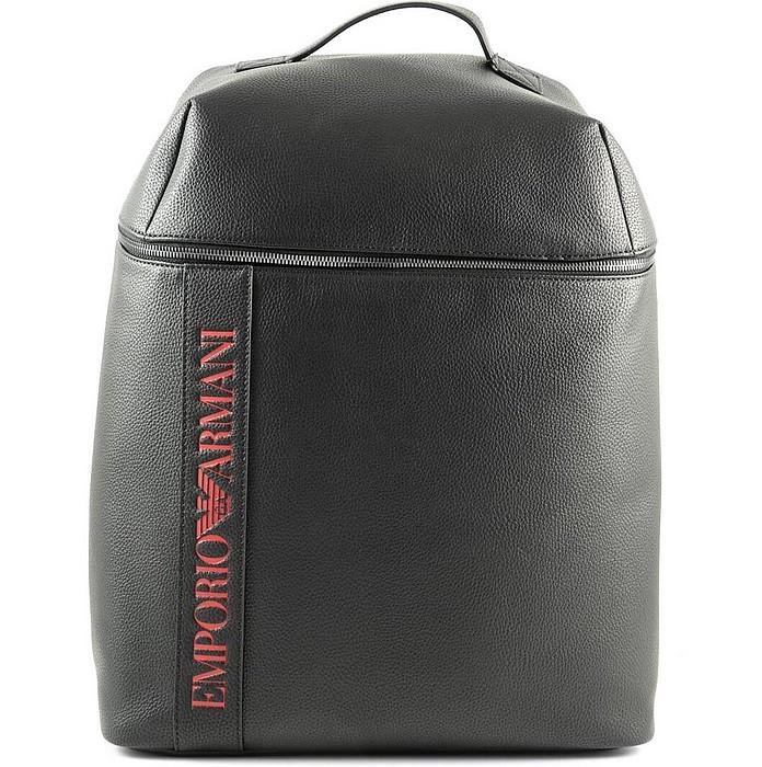 Men's Black Backpack - Emporio Armani