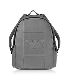 Two-tone Backpack w/ Side Pockets