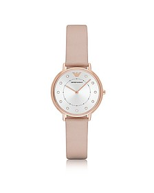 Kappa Rose Goldtone Stainless Steel Women's Watch - Emporio Armani