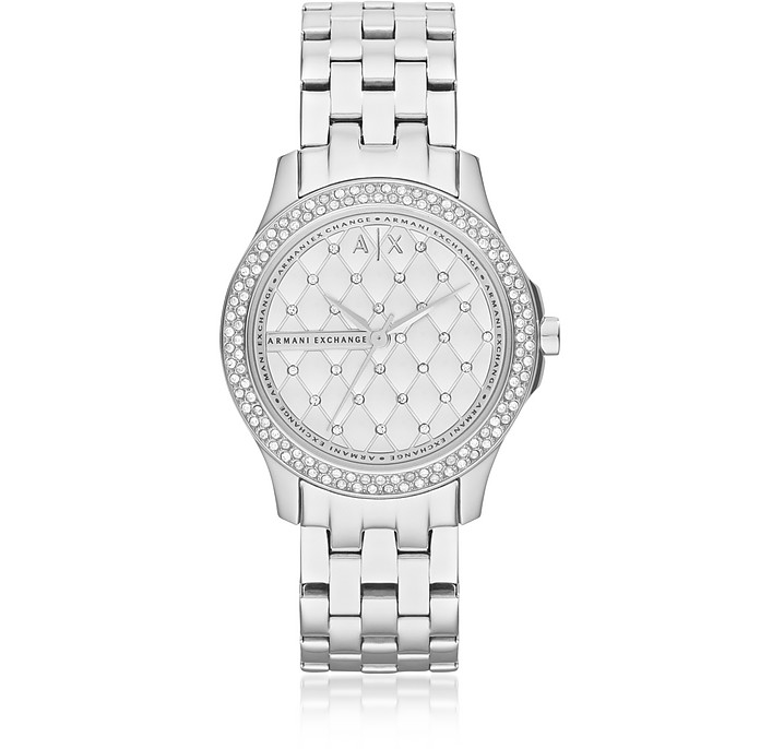 Lady Hampton Stainless Steel Women's Watch - Armani Exchange