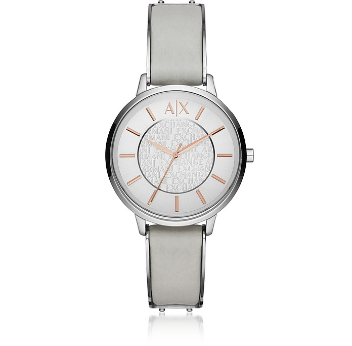 Olivia Stainless Steel Gray Women's Watch - Armani Exchange