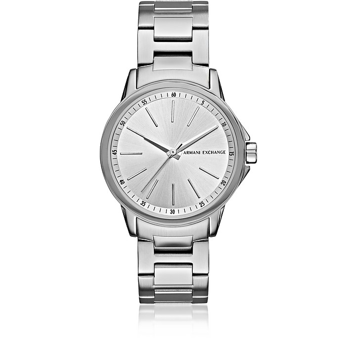 Lady Banks Silver Tone Women's Watch - Armani Exchange