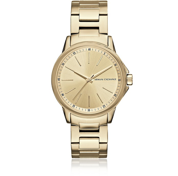 Lady Banks Gold PVD Women's Watch - Armani Exchange