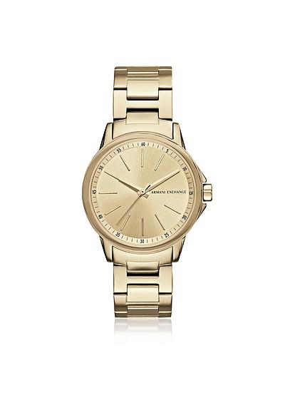 Lady Banks Gold PVD Women's Watch - Armani Exchange