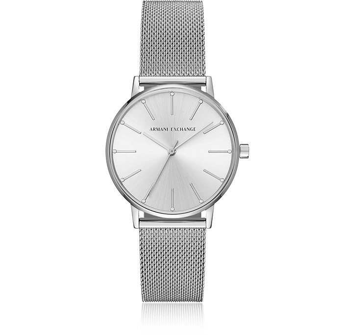 Lola Stainless Steel Mesh Women's Watch - Armani Exchange