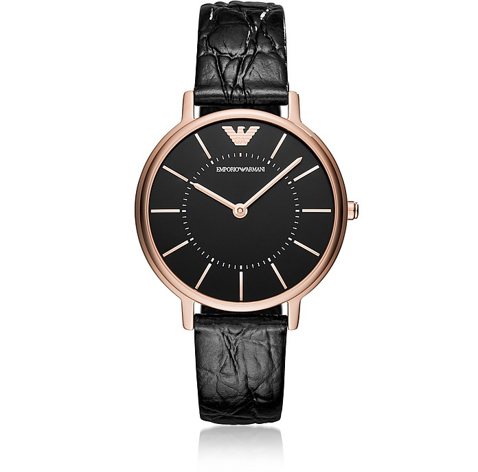Kappa Black Women's Watch - Emporio Armani
