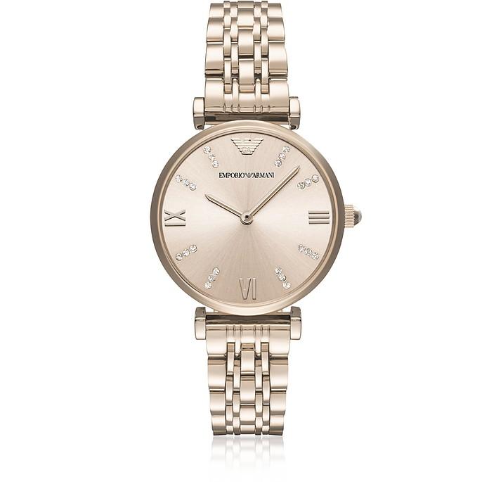 Gianni T-Bar Pale Rose Women's Watch - Emporio Armani