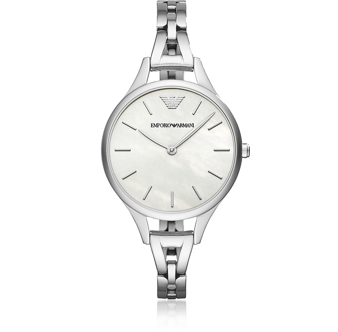 Aurora Stainless Steel Women's Watch - Emporio Armani