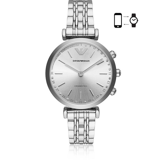 Emporio Armani Connected Hybrid Smartwatch für Damen - Emporio Armani