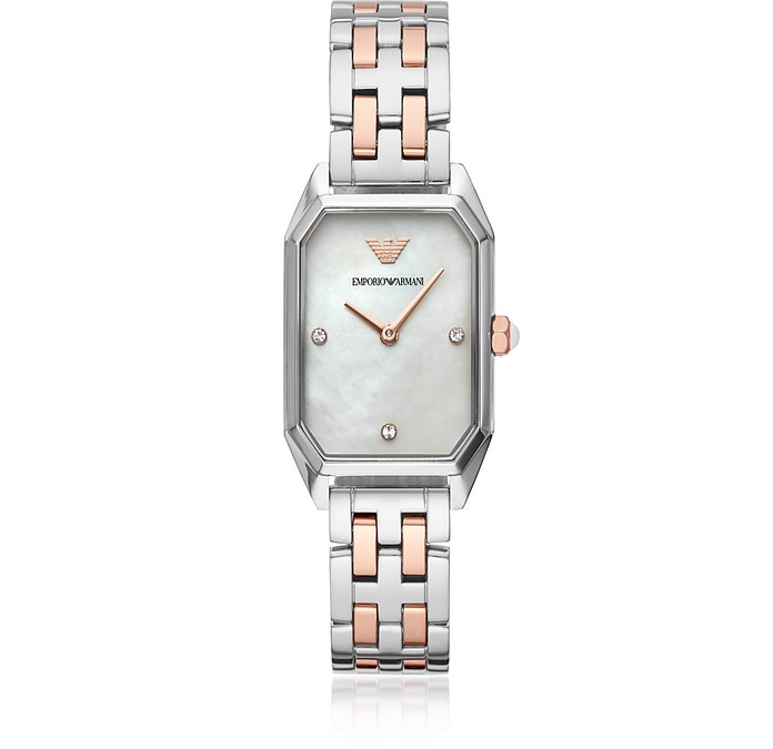 Gioia Two Tone Women's Watch - Emporio Armani