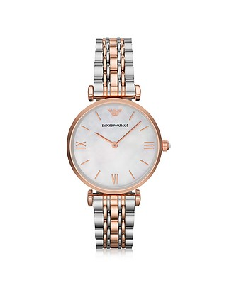 ab0f4ee2365 Stainless Steel Women s Watches by designer  Emporio Armani