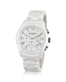 Men's Ceramic Chrono Watch - Emporio Armani