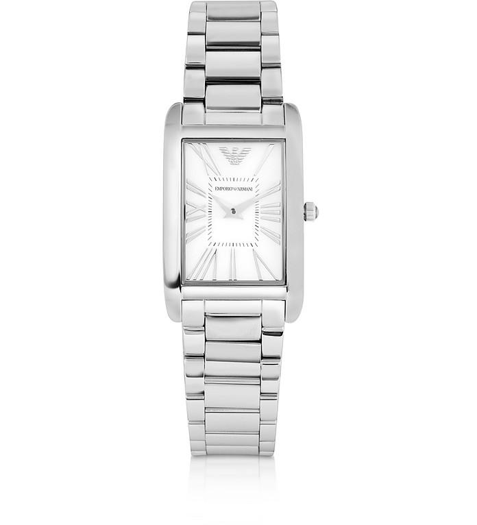 Super Slim Women's Stainless Steel Watch - Emporio Armani