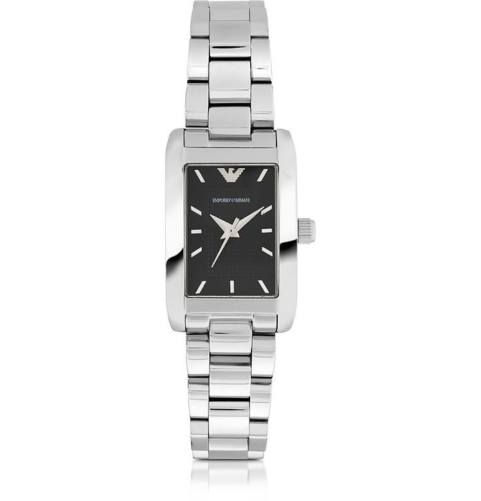 Super Slim Stainless Steel Women's Watch - Emporio Armani