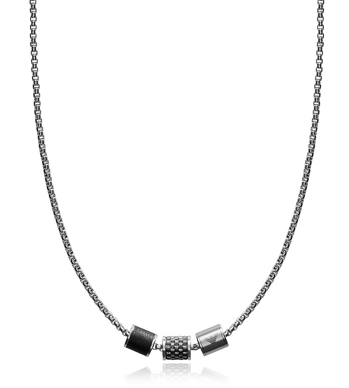 EGS2383020 Heritage Men's Necklace - Emporio Armani