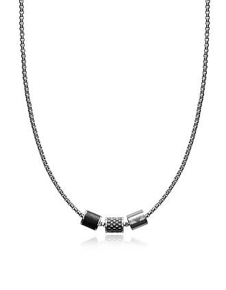 1939dc5315f Emporio Armani. Heritage Cylinder Pendant Men's Necklace…