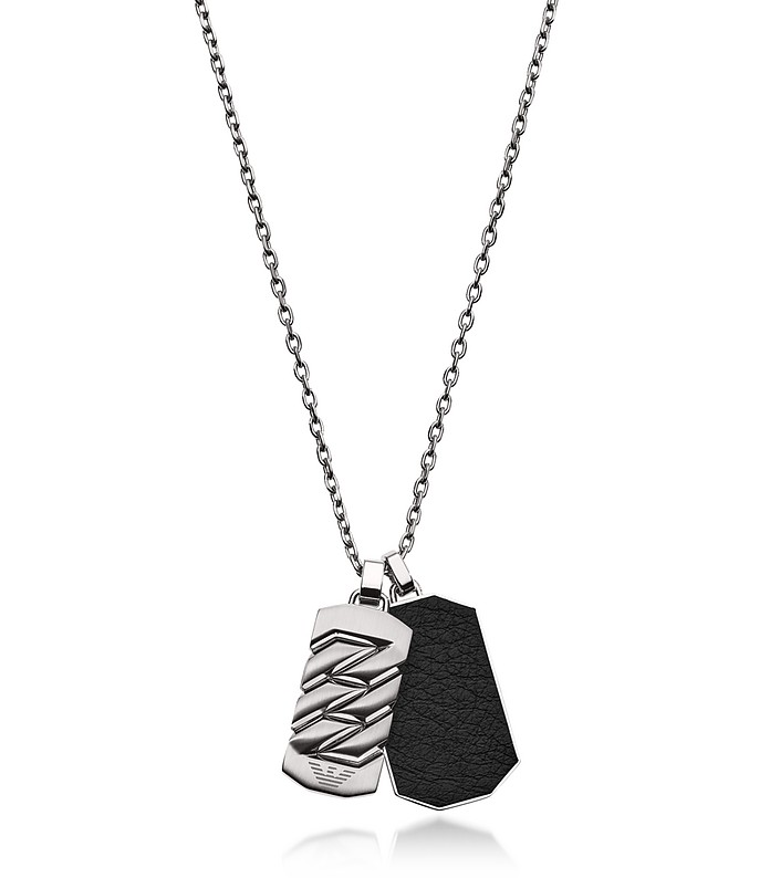 EGS2437040 Heritage Men's Necklace - Emporio Armani
