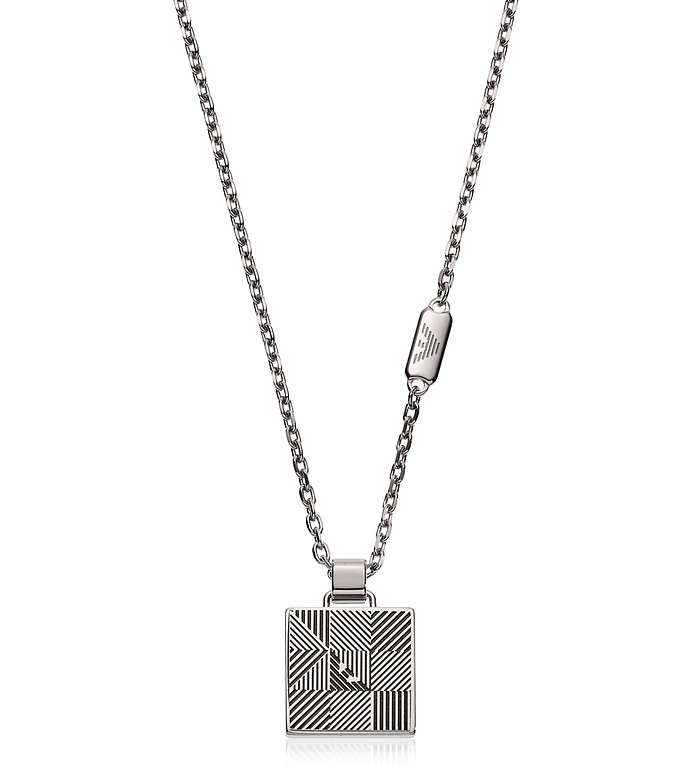 Signature Men's Necklace - Emporio Armani