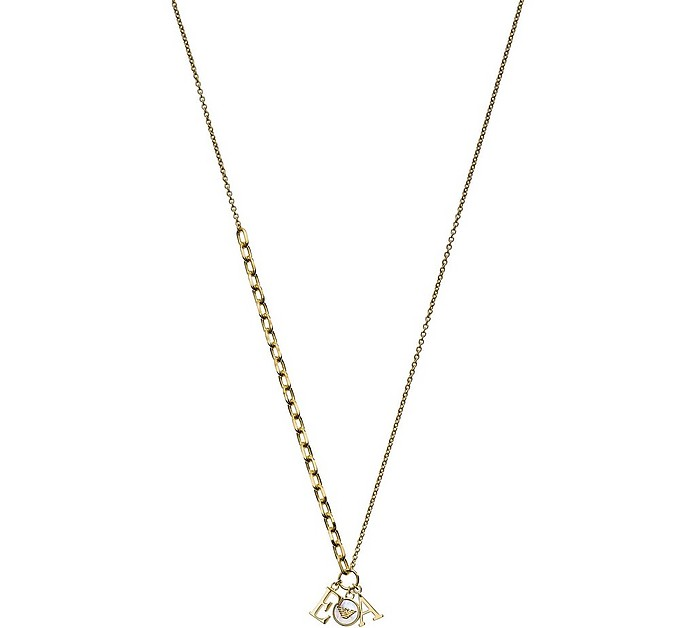 925 Sterling Silver Women's Necklace - Emporio Armani