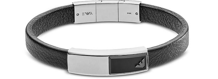 EGS2288040 Signature Men's Bracelet - Emporio Armani