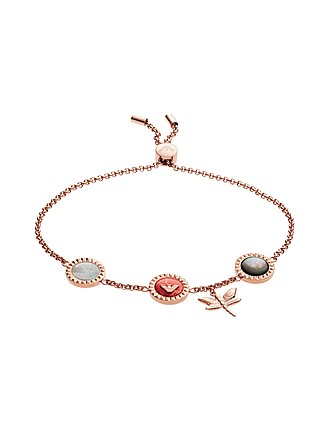791b2476 Dragonfly and Signature Medallion Women's Bracelet…
