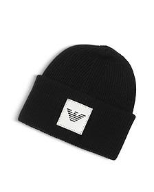 Black Banie Hat w/ Logo