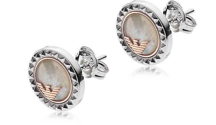 6ea226d7b Emporio Armani EG3352040 Signature Women's Earring at FORZIERI