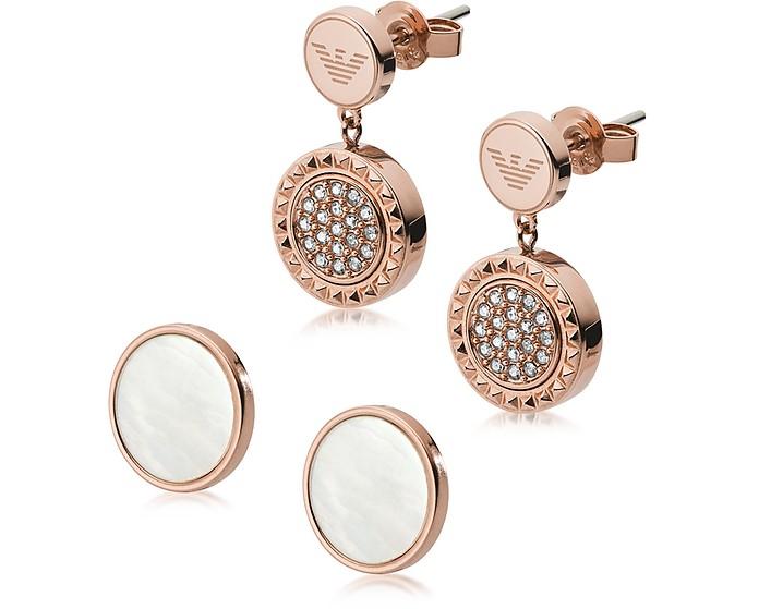 95c07eafe Emporio Armani Interchangeable Drop Earrings at FORZIERI