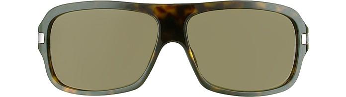 74752172ee9 Signature Metal Strip Rectangular Sunglasses - Giorgio Armani.  310.00  Actual transaction amount