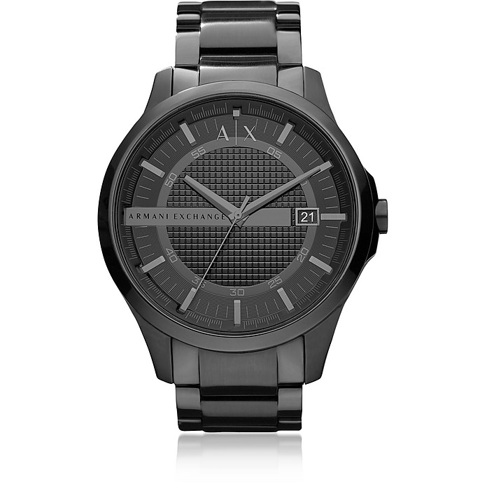 Armani Exchange - Stainless Steel Men's Watch In Black