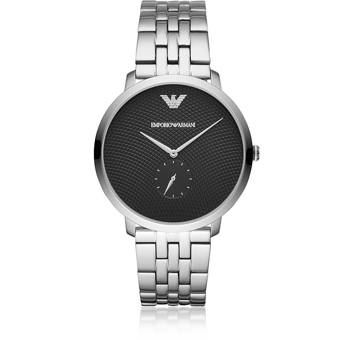 Modern Slim Stainless Steel Men's Watch - Emporio Armani