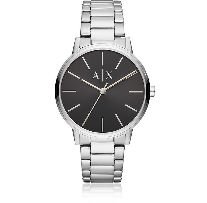 Cayde Silver Minimalist Men's Watch - Emporio Armani