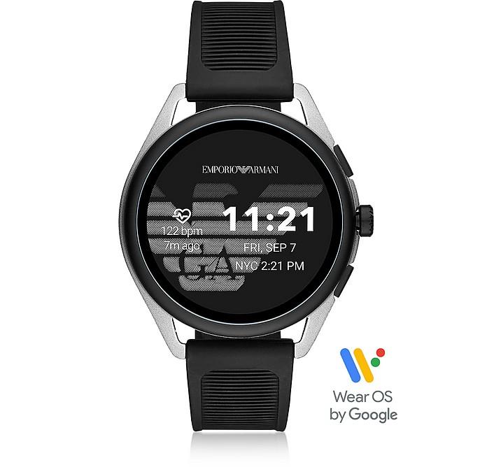 黑色铝合金Armani触摸屏手表 - Emporio Armani 安普里奥·阿玛尼