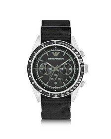 Sportivo Stainless Steel Men's Watch w/Changeable Canvas Band