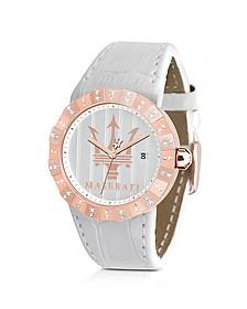 Tridente - Rose Golden Stainless Steel Women's Watch