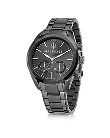 Pole Position Gunmetal PVD Stainless Steel Men's Watch - Maserati