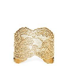 Vintage Lace Gold Plated Bracelet