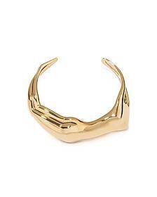 Figuratives Body Gold Plated Bracelet - Aurelie Bidermann