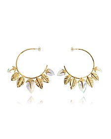 Talitha Hoop Earrings