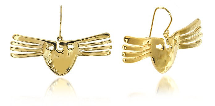 Melina Mask Earrings - Aurelie Bidermann