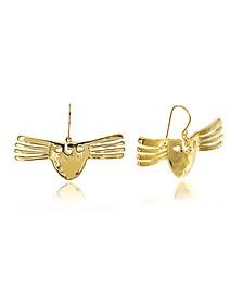 Melina Mask Earrings - Aurelie Bidermann