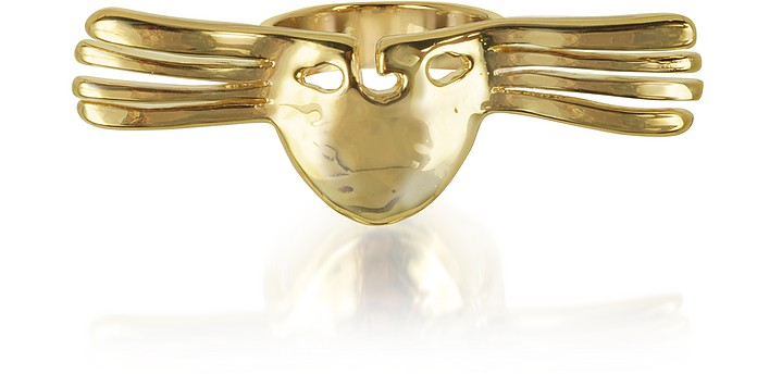 Melina Winged Mask Ring - Aurelie Bidermann