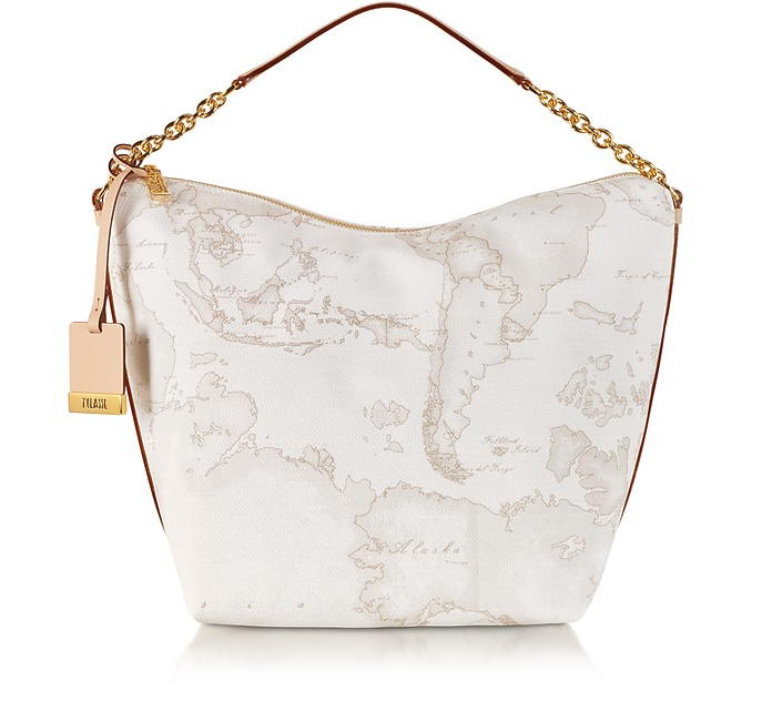 "ALVIERO MARTINI 1A CLASSE 1A PRIMA CLASSE - GEO PRINTED MEDIUM ""CONTEMPORARY"" SHOULDER BAG"