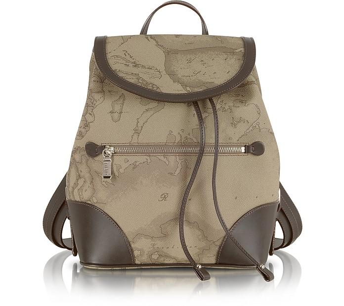 """1a Prima Classe - Geo Printed """"Neo Casual"""" Backpack - Alviero Martini 1A Classe"""