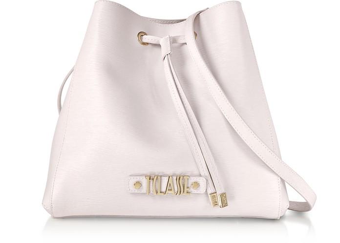 Alegria Smile Saffiano Print Bucket Bag - Alviero Martini 1A Classe